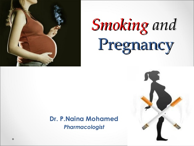 What Nidhi (this Woman Told Me) About Smoking During Pregnancy