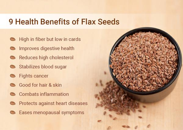 Health Benefits Of Flaxseed For Infants
