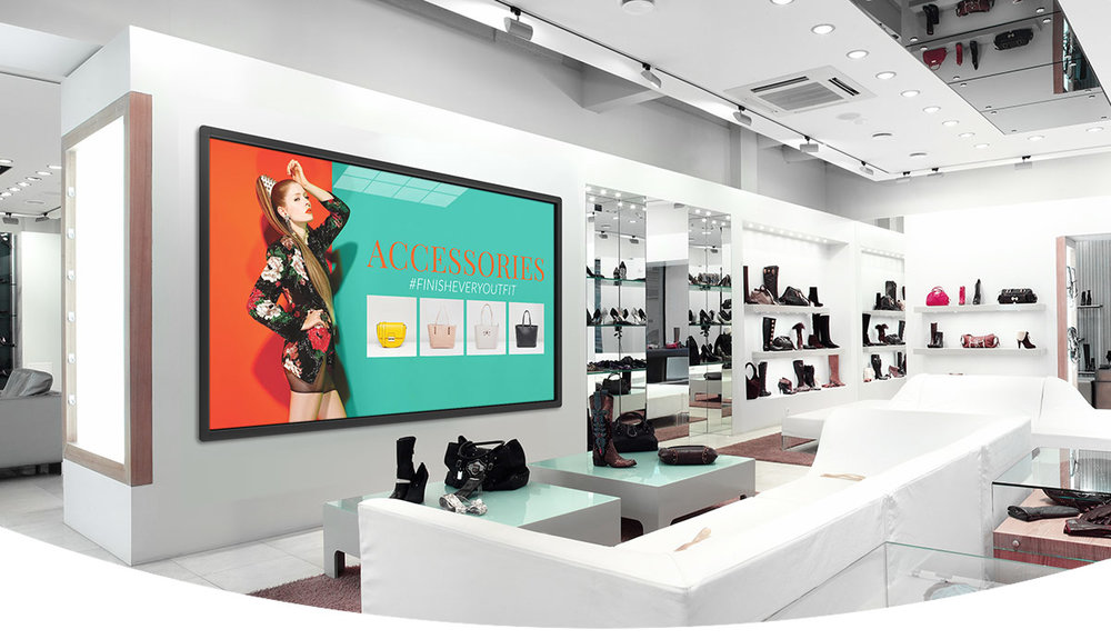 Digital Signage Solution Dual And Supports Video Screen Setups